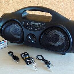 Акустические системы - Bluetooth колонка с FM-радио и караоке, 0