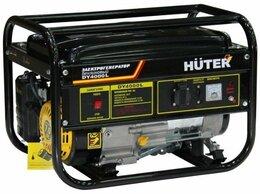 Электрогенераторы - Бензогенератор huter DY4000L, 0