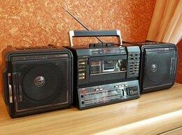 Музыкальные центры,  магнитофоны, магнитолы - Новый Sharp WF-T737z TWIN (Япония,раритет), 0