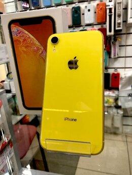 Мобильные телефоны - iPhone XR 64GB Желтый б/у Гарантия от магазина, 0