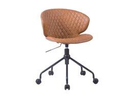 Стулья, табуретки - Стул офисный крутящийся коричневый Kennedy, 0