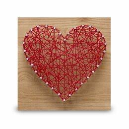 Игровые наборы и фигурки - Стринг арт STRING ART LAB SAC006 Сердце, 0