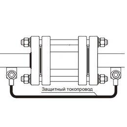 Элементы систем отопления - Токопровод защитный КМ к ПРЭМ Ду 20, 0