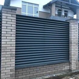 Жалюзи - Забор Жалюзи металлический от GL 0,5 RAL 8012, 0