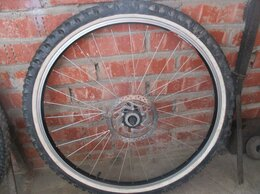 """Обода и велосипедные колёса в сборе - Переднее колесо 26"""", 0"""