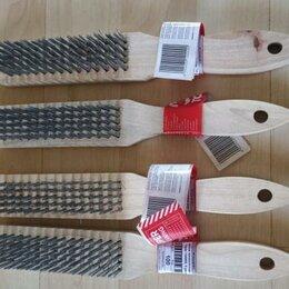 Кордщётки ручные - Щетка проволочная Top Tools 14A605, 5 рядов, деревянная рукоятка, 0