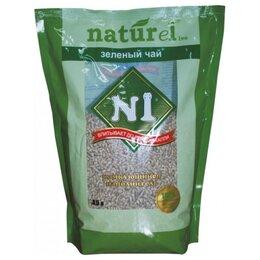 Наполнители для туалетов - Naturel №1 Зеленый чай 17,5 л Комкующийся…, 0