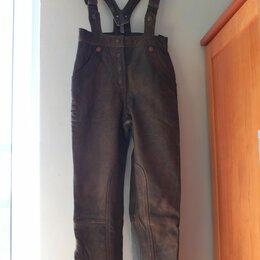 Мотоэкипировка - Мотоштаны кожаные винтаж hein gericke classic gear, 0