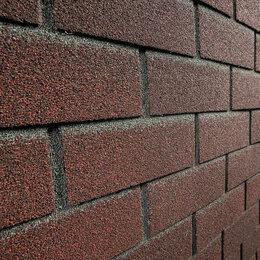 Фасадные панели - Фасадная плитка Hauberg (Хауберк) Обожженый кирпич, 0