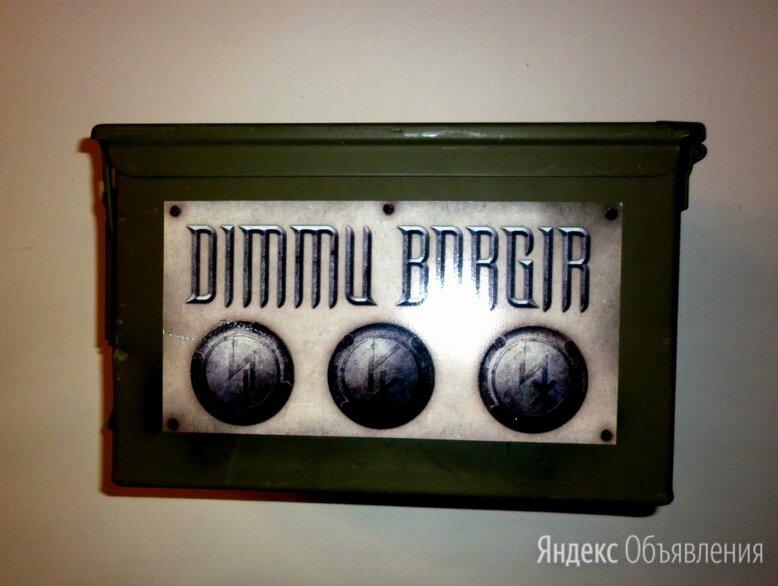 Dimmu Borgir - Abrahadabra (USA) CD Limited Metal Box по цене 13300₽ - Музыкальные CD и аудиокассеты, фото 0