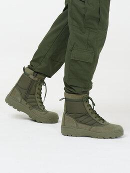 Ботинки - Берцы тактические Combat S.W.A.T. олива, 0