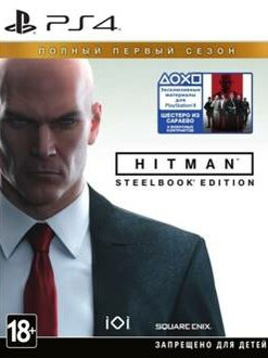 Игры для приставок и ПК - Видеоигра HITMAN: Полный первый сезон (Steelbook…, 0