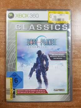 Игры для приставок и ПК - Диск Xbox 360 Lost Planet , 0