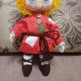 Рукоделие, поделки и сопутствующие товары - Текстильная кукла Домовенок Кузя, 0