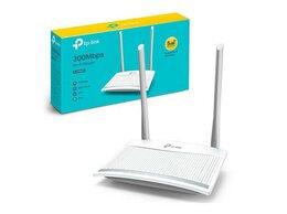 Оборудование Wi-Fi и Bluetooth - Беспроводной маршрутизатор Wi-Fi TP-Link TL-WR820N, 0