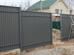 Металлопрокат - Забор из профлиста под ключ стоимость Забор, 0