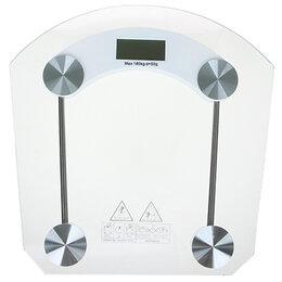 Напольные весы - Весы напольные электрон., ЖК-дисплей, макс. нагр.до 180кг, 0