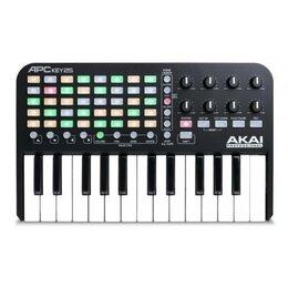 Клавишные инструменты - AKAI PRO APC KEY 25 USB клавишный контроллер, 0