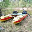 Надувной катамаран для сплава Кокшага-420 по цене 26799₽ - Надувные, разборные и гребные суда, фото 9