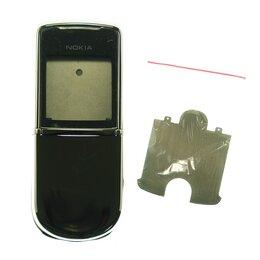 Корпусные детали - Корпус Nokia 8800 Sirocco (серебристый), 0