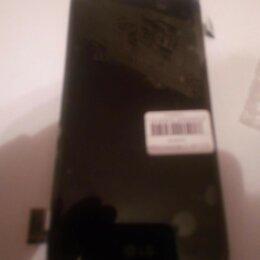 Дисплеи и тачскрины - LG K8 (K350) модуль c рамкой (чёрный), 0