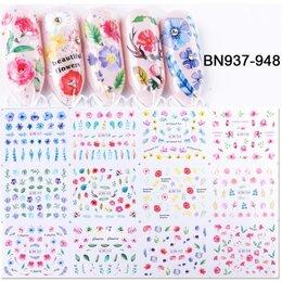 Дизайн ногтей - Переводные наклейки для ногтей, 0