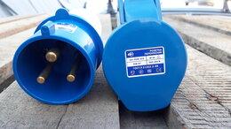 Товары для электромонтажа - Вилка и розетка переносная силовая 32 А, 0