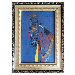 Картины, постеры, гобелены, панно - Картина «Лошадь Марвари», 0