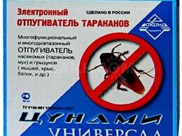Отпугиватели и ловушки для птиц и грызунов - Средство от тараканов Цунами универсал…, 0