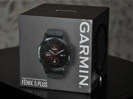 Умные часы и браслеты - Garmin Fenix 5 Plus Sapphire (новые, запечатанные), 0