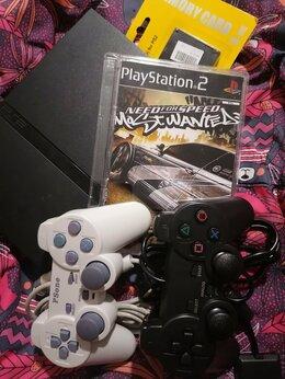 Игровые приставки - Sony playstation 2 PS2 с играми , 0