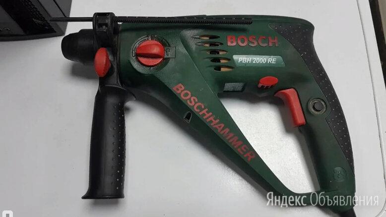 Перфоратор Bosch PBH 2000 RE по цене 4590₽ - Перфораторы, фото 0