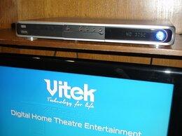 DVD и Blu-ray плееры - DVD+HDD рекордер Vitek VT-4097SR 250 Гб, 0