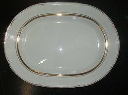 Блюда и салатники - Большое овальное блюдо ЗиК, 0