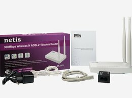 3G,4G, LTE и ADSL модемы - 3 в одном роутер Netis DL4323 adsl2+, WAN, WiFi, 0