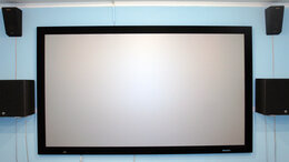 Домашние кинотеатры - Экран для проектора на раме Stewart FireHawk…, 0