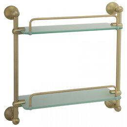 Полки, стойки, этажерки - Полка 35 см Gialetta Veragio VR.GIL-6412.BR, 0