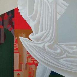 """Картины, постеры, гобелены, панно - Картина маслом на холсте """"Рыцарский поединок"""", 0"""