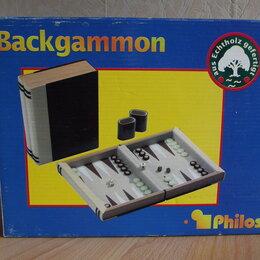 Настольные игры - Backgammon настольная игра, 0