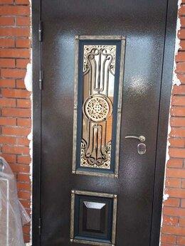 Входные двери - Входные металлические двери со стеклопакетом и…, 0