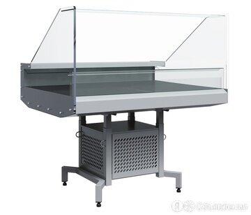 Мобильная промо-витрина Полюс Fudzi PG11 VM 1,25-1 9006 по цене не указана - Холодильные витрины, фото 0