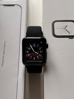 Умные часы и браслеты - Apple Watch S3 42mm, Stainless Steel, Sapphire, 0