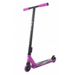 Самокаты - Самокат трюковый AT Scooters RACE фиолетовый, 0