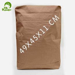 Пакеты - Мешок Клапанный (Закрытые) 49х45х11 см (белый), 0