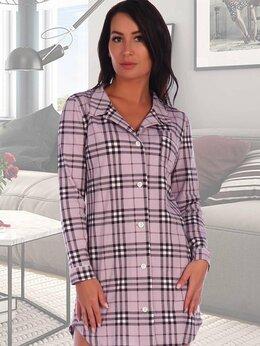 Блузки и кофточки - Рубашка трикотажная Розалин, 0
