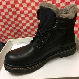 Ботинки - Ботинки мужские натуральная кожа/мех Vi To Finland, 0