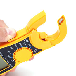 Измерительное оборудование - Мультиметр цифровой клещи + прозвонка, 0