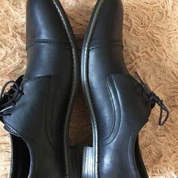Туфли - Туфли,кожа,чёрные,качественные,модные., 0