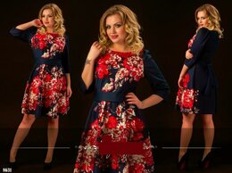 Платья - Новое платье трикотаж средней плотности, 0