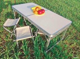 Походная мебель - Стол Складной Усиленный + Стулья, 0